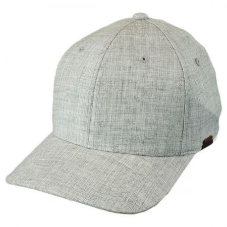 Kangol Flexfit Marl Pattern Fitted Baseball Cap 42b49ed7965