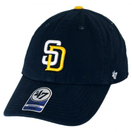 47 Brand San Diego Padres MLB Kid's Clean Up Baseball Cap