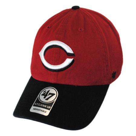 47 Brand Cincinati Reds MLB Clean Up Strapback Baseball Cap