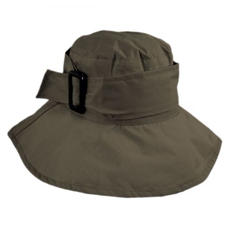 Jeanne Simmons Buckle Rain Bucket Hat