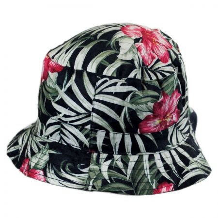 Jeanne Simmons Hibiscus Cotton Bucket Hat