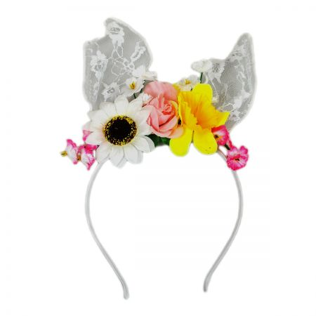 Jeanne Simmons Kids' Lace Bunny Ear Headband