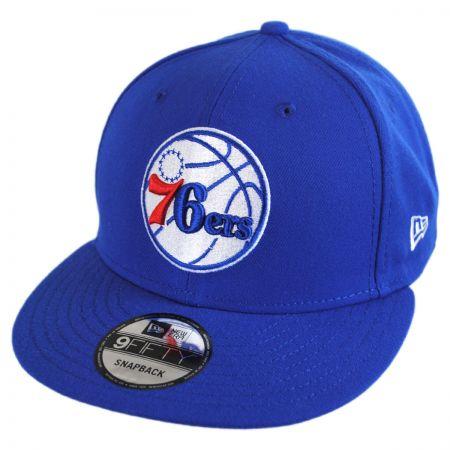 New Era Philadelphia 76ers NBA On Court Snapback Baseball Cap