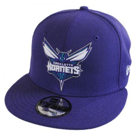 New Era Charlotte Hornets NBA On Court Snapback Baseball Cap