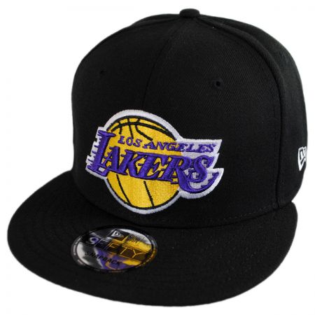 New Era Los Angeles Lakers NBA On Court Snapback Baseball Cap