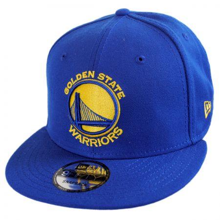 New Era Golden State Warriors NBA On Court Snapback Baseball Cap