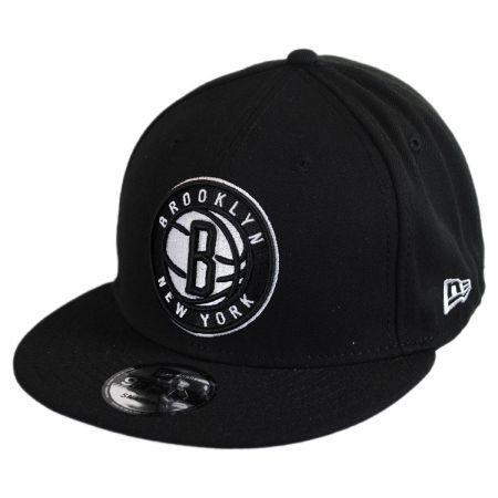 New Era Brooklyn Nets NBA On Court Snapback Baseball Cap