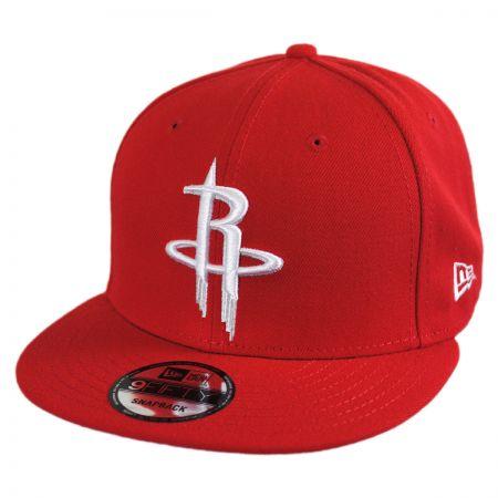 New Era Houston Rockets NBA On Court Snapback Baseball Cap