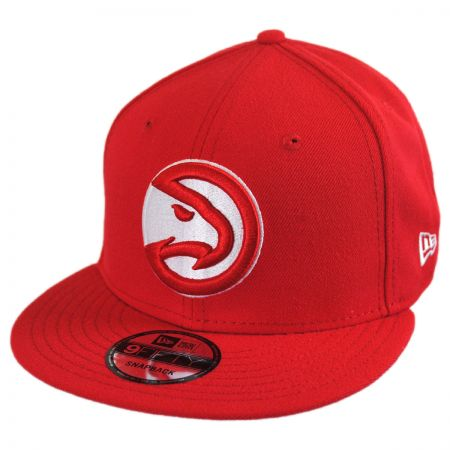 New Era Atlanta Hawks NBA On Court Snapback Baseball Cap