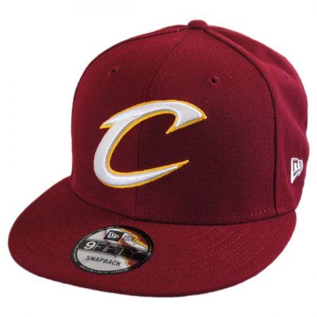 New Era Cleveland Cavaliers NBA On Court Snapback Baseball Cap
