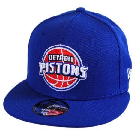 New Era Detroit Pistons NBA On Court Snapback Baseball Cap