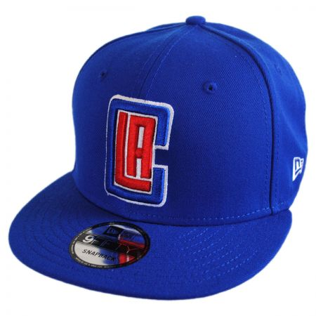 New Era Los Angeles Clippers NBA On Court Snapback Baseball Cap