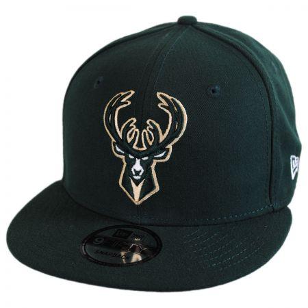 New Era Milwaukee Bucks NBA On Court Snapback Baseball Cap