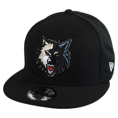 New Era Minnesota Timberwolves NBA On Court Snapback Baseball Cap