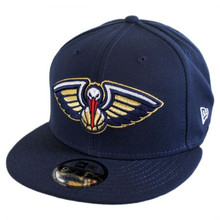 New Era New Orleans Pelicans NBA On Court Snapback Baseball Cap