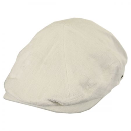 White Flat Cap at Village Hat Shop 12943b42d29