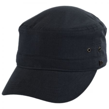 EK Collection by New Era Essential Cotton Military Cadet Cap