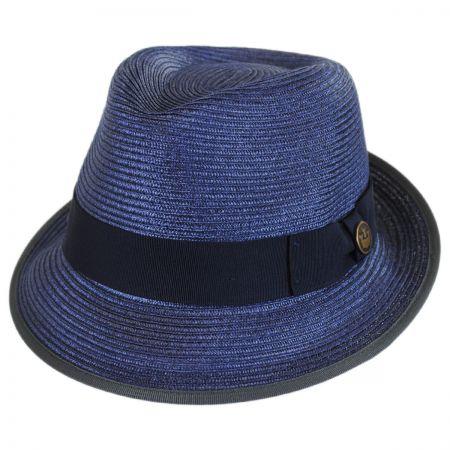 Goorin Bros Baseline Straw Trilby Fedora Hat