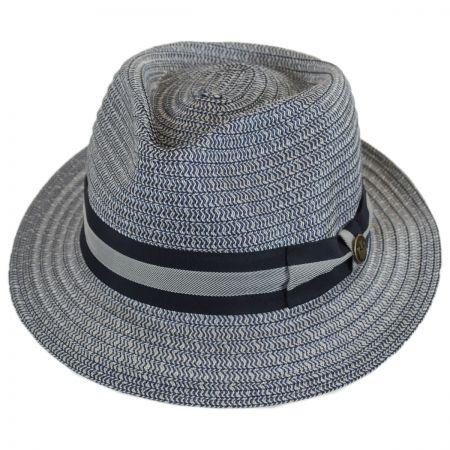 Goorin Bros Cayo Straw Tear Drop Fedora Hat