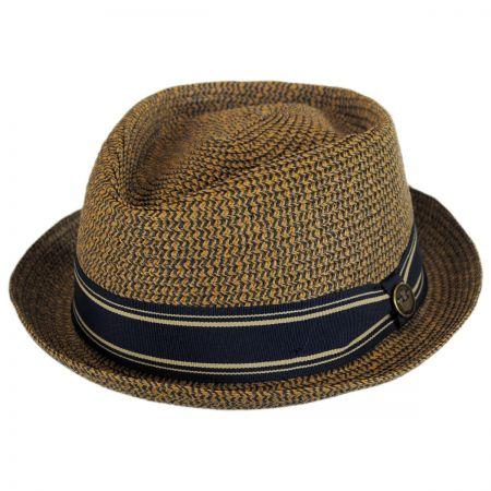 Goorin Bros Big Boy Kris Toyo Straw Diamond Crown Fedora Hat