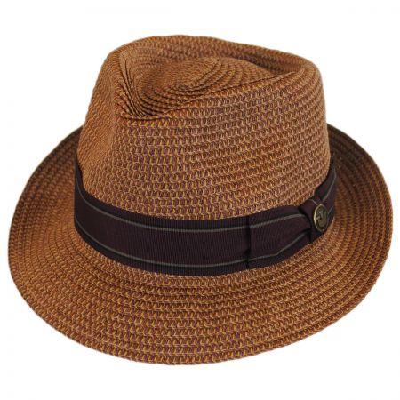 Goorin Bros Diango Toyo Straw Tear Drop Fedora Hat