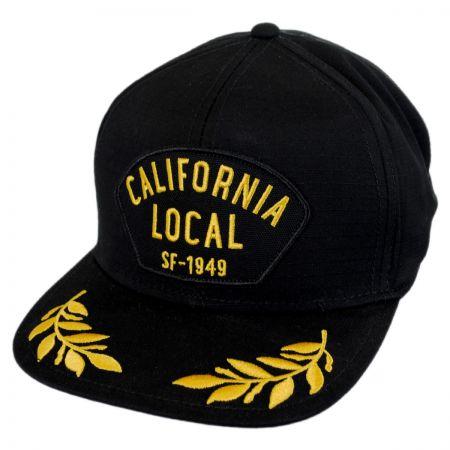 California Local Snapback Baseball Cap alternate view 1