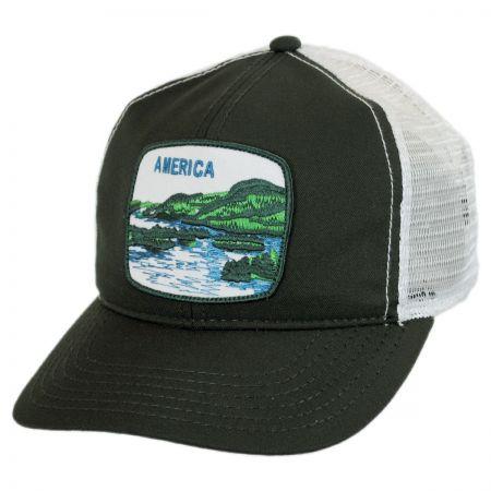 Goorin Bros Uhmerica Mesh Trucker Snapback Baseball Cap