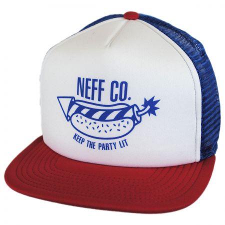 Neff Suburbia Trucker Snapback Baseball Cap