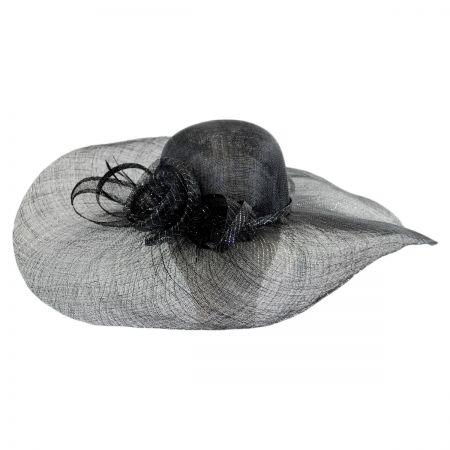 Scala Vera Sinamay Straw Swinger Hat