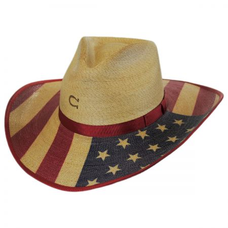 Hero Palm Leaf Straw Western Hat alternate view 1