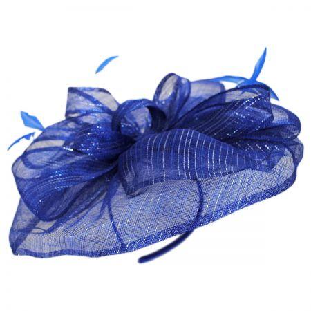 Scala Honore Sinamay Straw Fascinator Headband