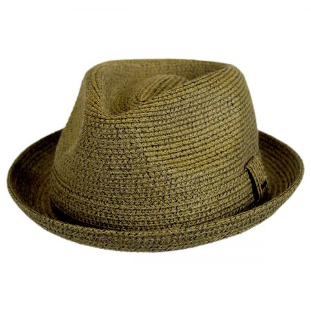 Billy Toyo Straw Braid Fedora Hat alternate view 27