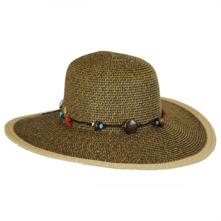 Cappelli Straworld Charm Band Toyo Straw Swinger Hat