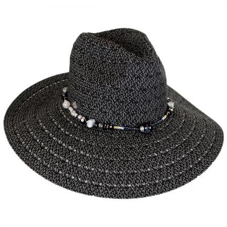 Black Straw Hats at Village Hat Shop 09e9433d7f5
