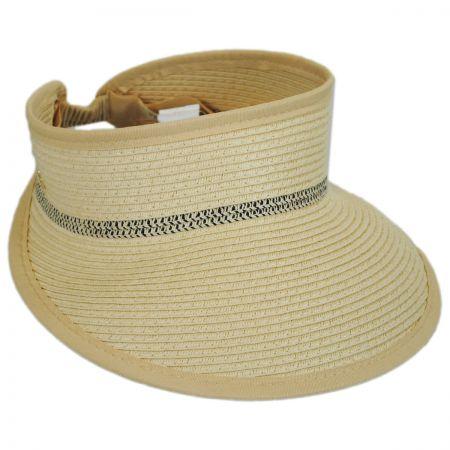 Cappelli Straworld Braided Toyo Straw Visor