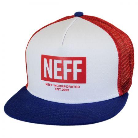 Neff Corpo Trucker Snapback Baseball Cap