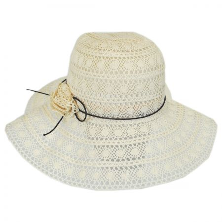Jeanne Simmons Lacy Cotton Swinger Hat