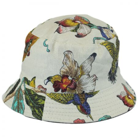 Jeanne Simmons Hummingbirds Cotton Bucket Hat
