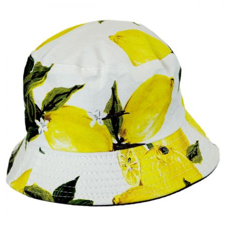Lemons Cotton Bucket Hat alternate view 1