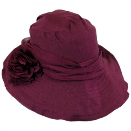 Jeanne Simmons Romance Fabric Sun Hat