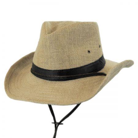 Dorfman Pacific Hemp Outback Fedora Hat