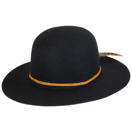Brixton Hats Sol Wool Felt Open Crown Hat