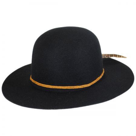 Brixton Hats Sol Wool Felt Open Crown Hat