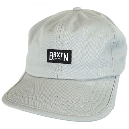 Brixton Hats Langley Leather Strapback Baseball Cap