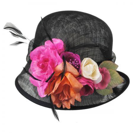 Nina Straw Cloche Hat alternate view 1