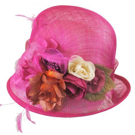 Nina Straw Cloche Hat alternate view 5