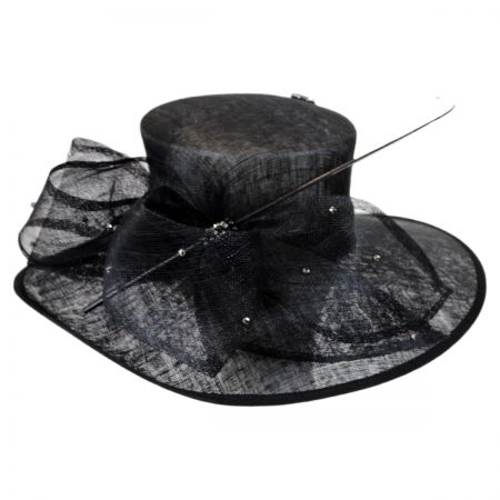 Scala Bonita Straw Boater Hat