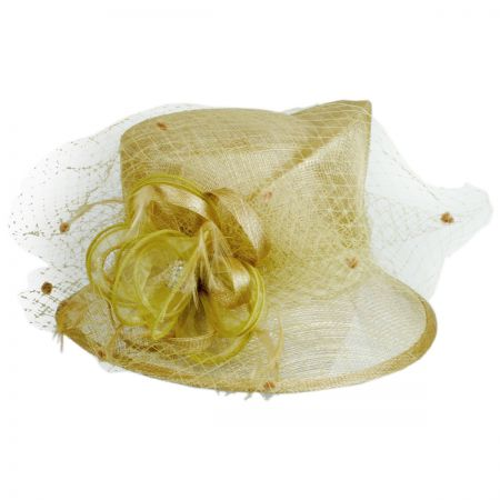 Something Special Trudie Sinamay Straw Cloche Hat