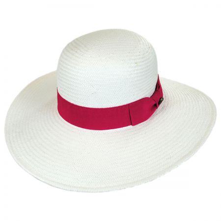 Karen Keith Toyo Straw Swinger Hat