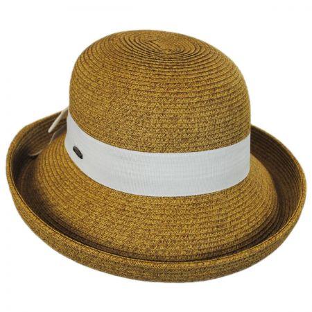 Karen Keith Toyo Straw Kettle Brim Sun Hat